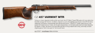 NEW CZ 457 MATCH VARMINT MTR